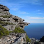  View from Table Mountain steps from A. Suites